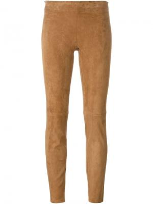 Леггинсы Jacky Stouls. Цвет: коричневый