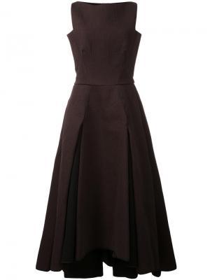 Платье Kindred Spirit Maticevski. Цвет: коричневый