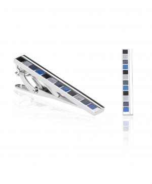 Зажим для галстука  TC-0099 NAVY HENDERSON. Цвет: синий