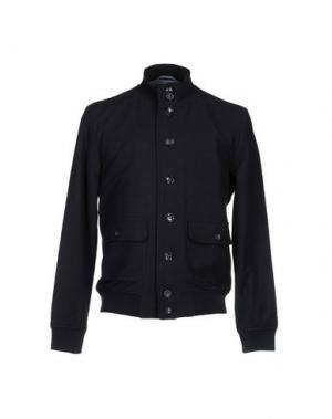 Куртка DANIELA FARGION. Цвет: темно-синий