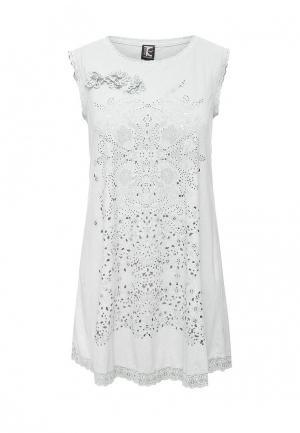 Платье Tricot Chic. Цвет: серый