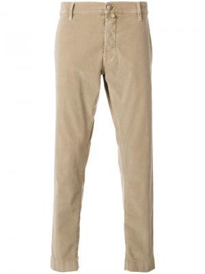 Однотонные брюки-чинос Jacob Cohen. Цвет: телесный