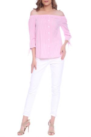 BLOUSE Emma Monti. Цвет: pink, white