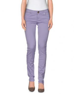 Повседневные брюки ATELIER FIXDESIGN. Цвет: сиреневый