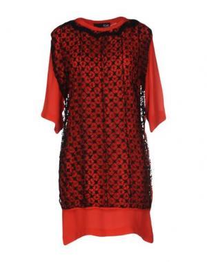 Короткое платье SOPHIA KOKOSALAKI. Цвет: красный