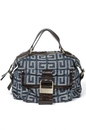 Bag GIVENCHY VINTAGE. Цвет: blue and brown