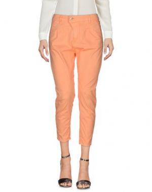 Повседневные брюки MELTIN POT. Цвет: оранжевый