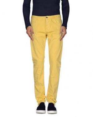 Джинсовые брюки CLOSED. Цвет: желтый