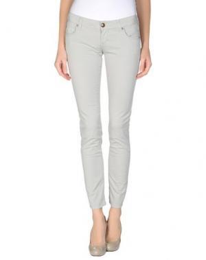Повседневные брюки ZU+ELEMENTS. Цвет: светло-серый