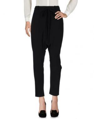 Повседневные брюки RIVULET. Цвет: черный