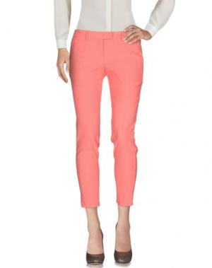 Повседневные брюки GOLD CASE. Цвет: розовый