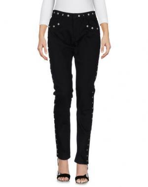 Джинсовые брюки EMANUEL UNGARO. Цвет: черный