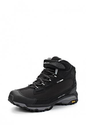 Ботинки трекинговые Reflex. Цвет: черный