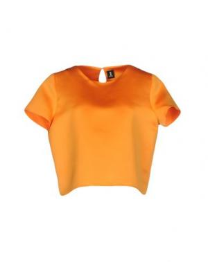 Блузка 1-ONE. Цвет: оранжевый