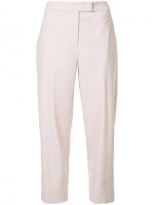 Укороченные зауженные брюки Nehera. Цвет: розовый и фиолетовый