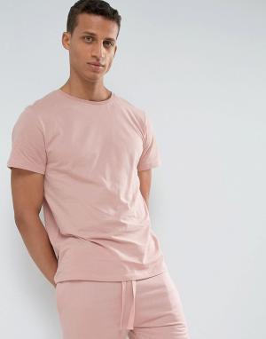 LDN DNM Футболка. Цвет: розовый