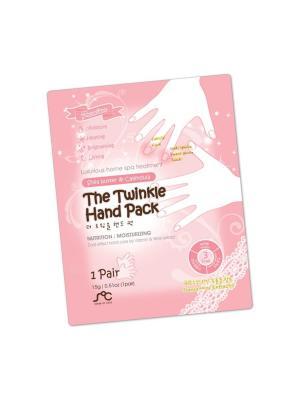 Перчатки косметические Rainbowbeauty SOC. Цвет: розовый