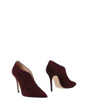 Ботинки ROBERTO FESTA. Цвет: баклажанный