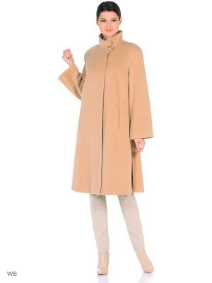 Пальто Lea Vinci. Цвет: бежевый