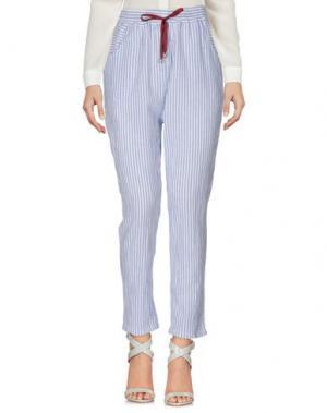 Повседневные брюки SOUVENIR. Цвет: синий