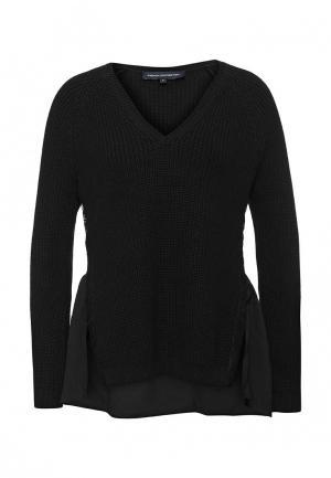 Пуловер French Connection. Цвет: черный