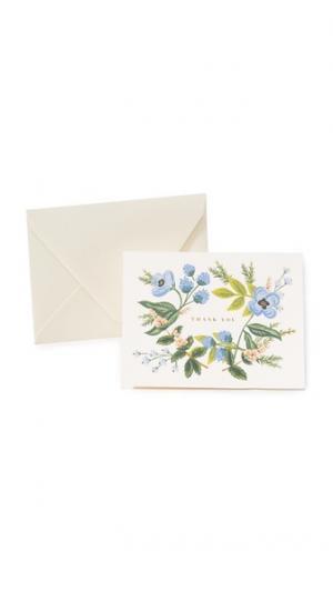 Благодарственные открытки Bouquet Rifle Paper Co