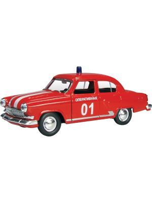 Машина ГАЗ-21 Волга пожарная AUTOTIME. Цвет: красный