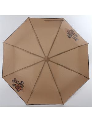 Зонт ArtRain. Цвет: зеленый, серо-коричневый