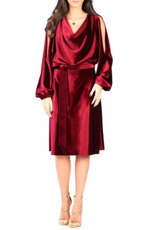 DRESS CARLA BY ROZARANCIO. Цвет: bordeaux