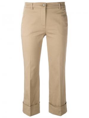 Укороченные брюки с отворотами LAutre Chose L'Autre. Цвет: телесный