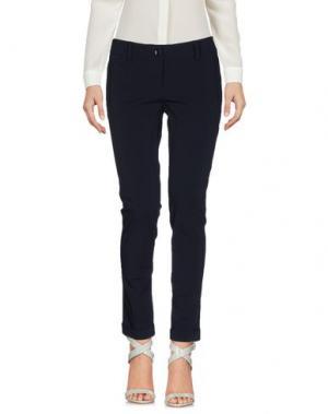 Повседневные брюки TRY ME. Цвет: темно-синий