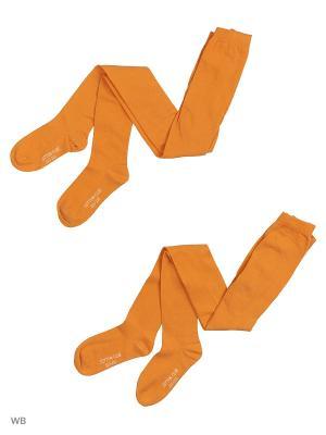 Колготки DAG. Цвет: оранжевый