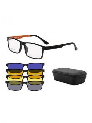 Оправа А9002-С3 Moretti. Цвет: черный, оранжевый