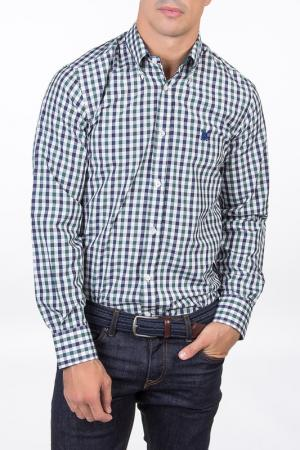 Рубашка POLO CLUB С.H.A.. Цвет: мультицвет