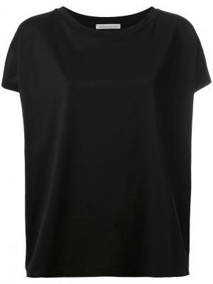 Loose fit T-shirt Stefano Mortari. Цвет: чёрный