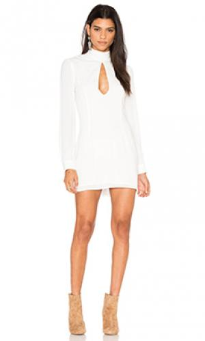Платье victoria STONE_COLD_FOX. Цвет: белый