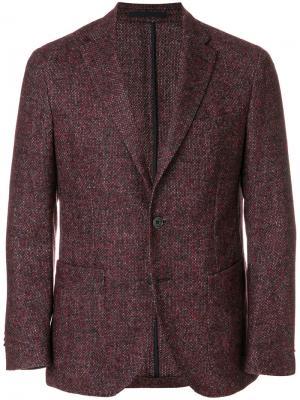 Классический пиджак Cantarelli. Цвет: красный