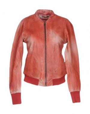 Куртка FREAKY NATION. Цвет: ржаво-коричневый