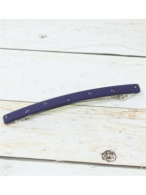 Заколка-автомат Vel Vett. Цвет: индиго, темно-фиолетовый, фиолетовый