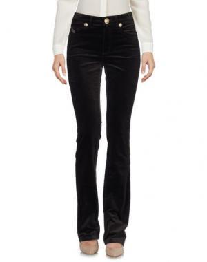 Повседневные брюки ANGELO MARANI. Цвет: темно-коричневый