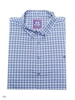 Рубашка IFC. Цвет: серо-голубой