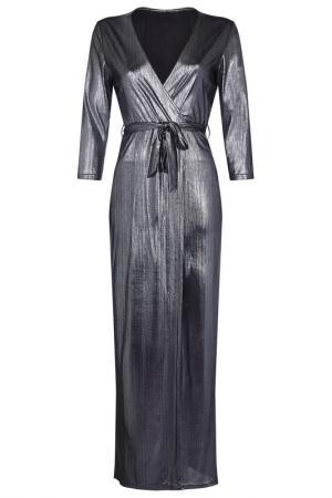 Платье Iska. Цвет: silver