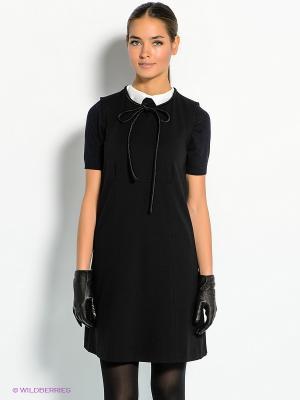 Платье Marina Yachting. Цвет: черный