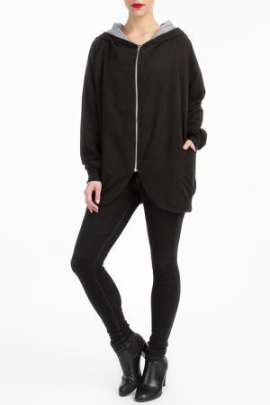 Куртка LESARA. Цвет: черный