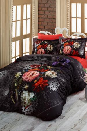 Double Quilt Cover Set Cotton box. Цвет: black, red, white