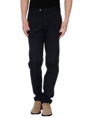 Повседневные брюки LIBERO. Цвет: темно-синий