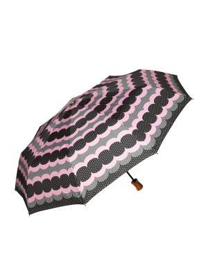 Зонт автоматический Mitya Veselkov. Цвет: розовый