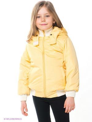Куртка Avanti Piccolo. Цвет: желтый
