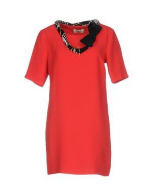 Короткое платье ELLA LUNA. Цвет: красный