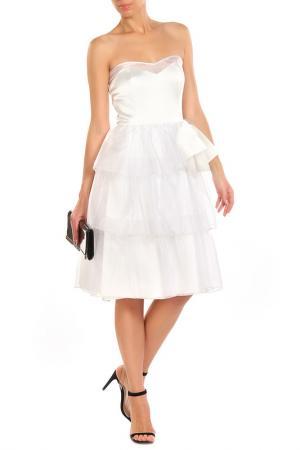 Платье Diva. Цвет: белый